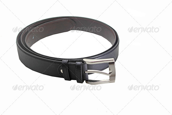 Men belt - Stock Photo - Images