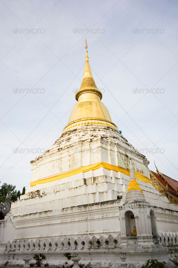 Chedi Temple - Stock Photo - Images