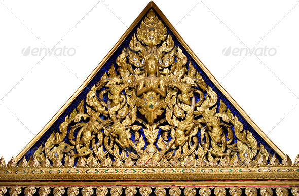 Thai Pattern style  - Stock Photo - Images