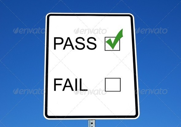 Pass or Fail - Stock Photo - Images