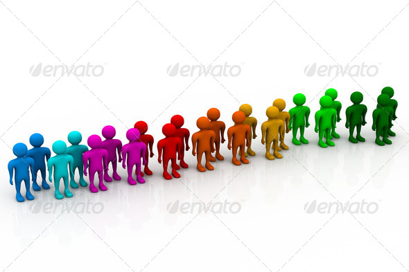 Social network people - Stock Photo - Images