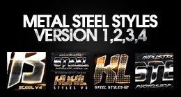 BEST METAL PHOTOSHOP STYLES