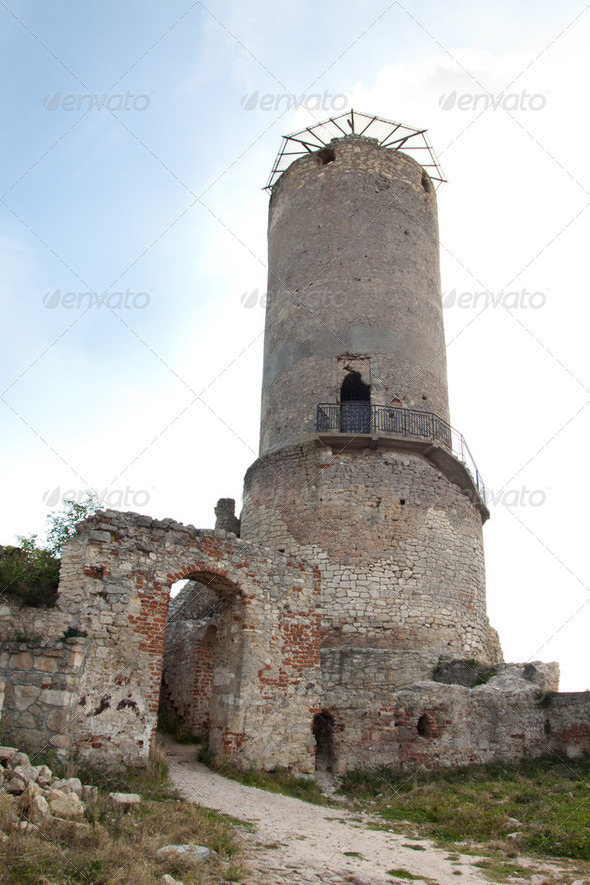 castle ruins - Stock Photo - Images