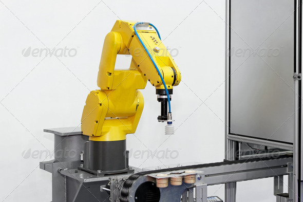 Robotic arm - Stock Photo - Images