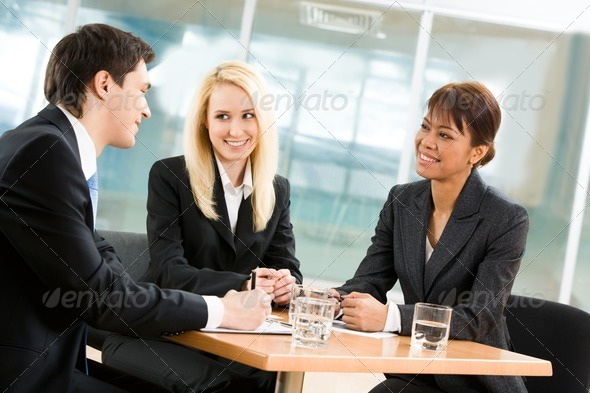 Interview - Stock Photo - Images