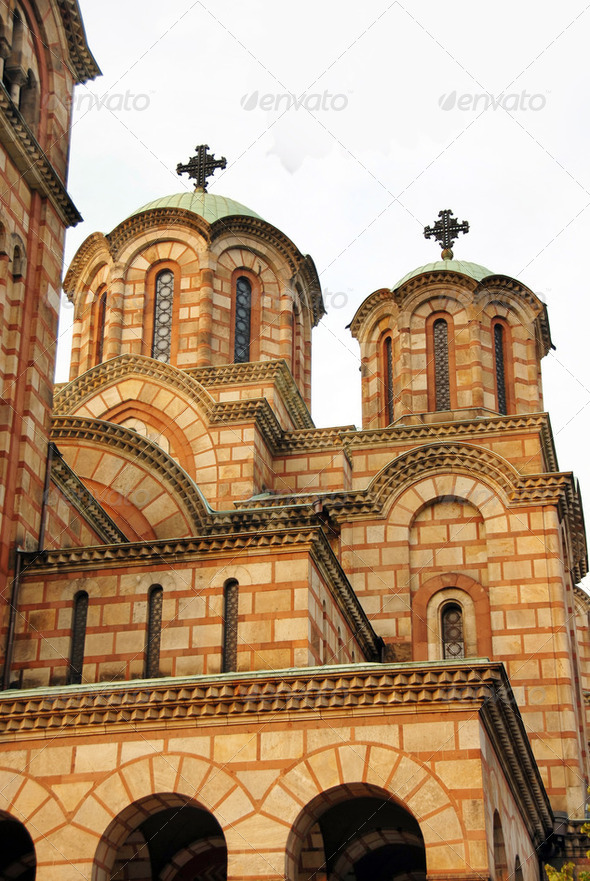 Saint Marco cathedral in Belgrade - Stock Photo - Images