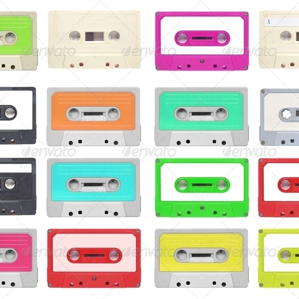 Tape cassette - Stock Photo - Images