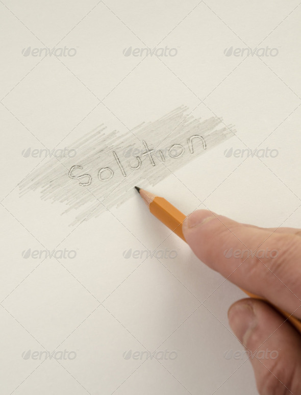 Looking for solutions - Stock Photo - Images
