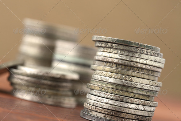 old coins - Stock Photo - Images