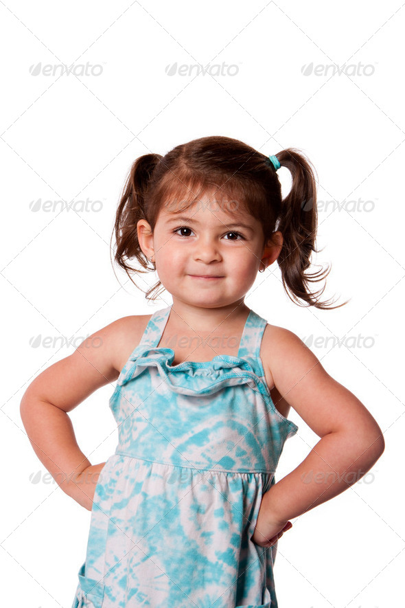 Little miss attitude - Stock Photo - Images
