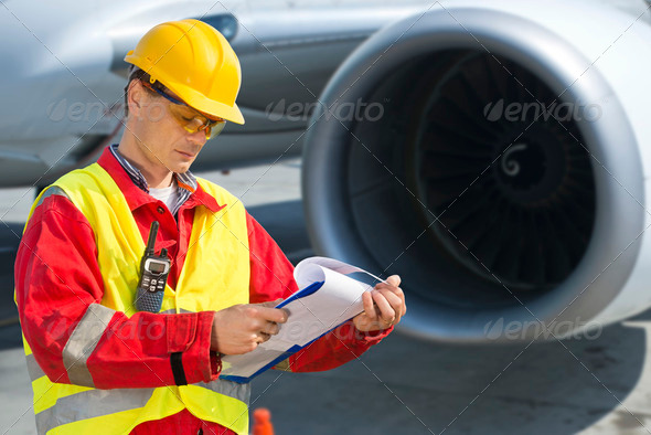 Airline safety - Stock Photo - Images