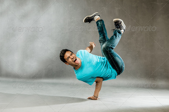 Exgtreme Dance - Stock Photo - Images