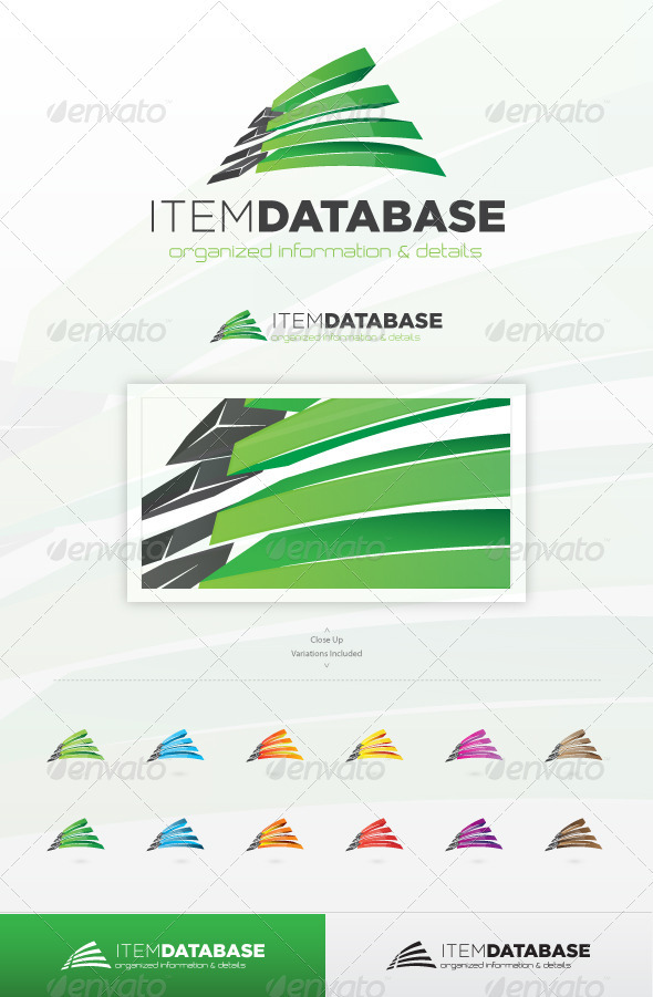 Item Database Logo - Abstract Logo Templates