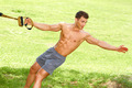 Fitness man in park - PhotoDune Item for Sale