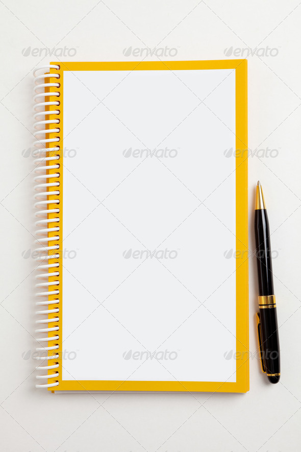 Blank Book - Stock Photo - Images
