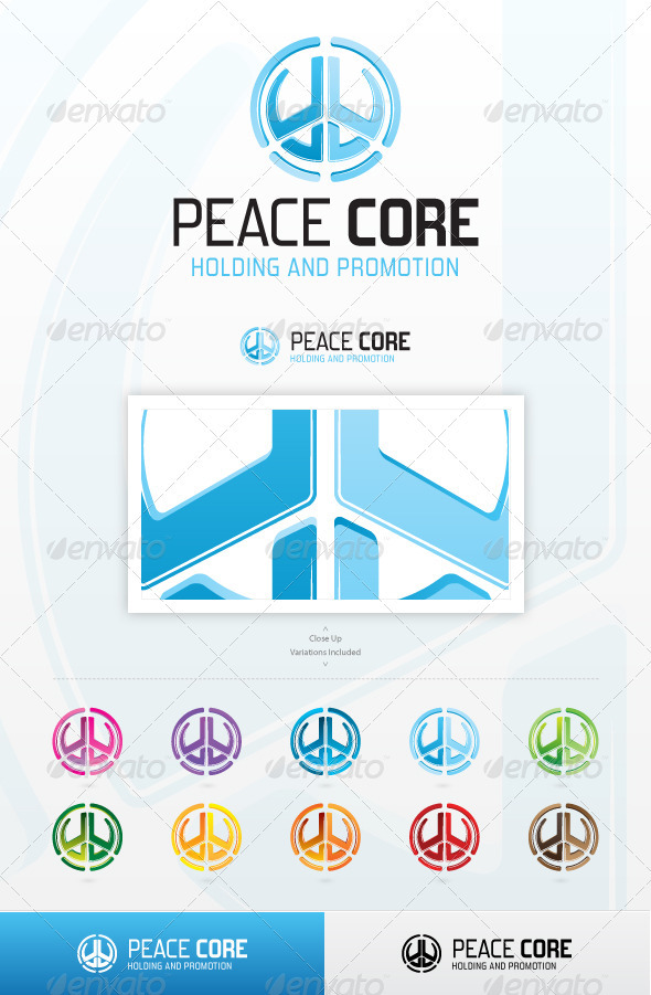 Peace Core - Symbols Logo Templates