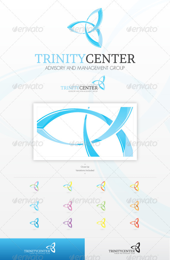 Trinity Center Logo - Symbols Logo Templates
