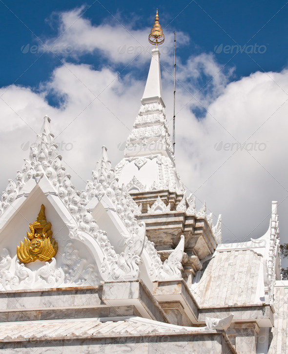 Buddhist temples in Thailand. - Stock Photo - Images