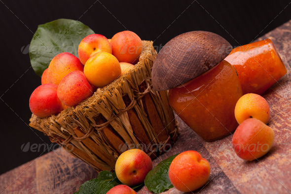 Homemade Jam From Apricots - Stock Photo - Images