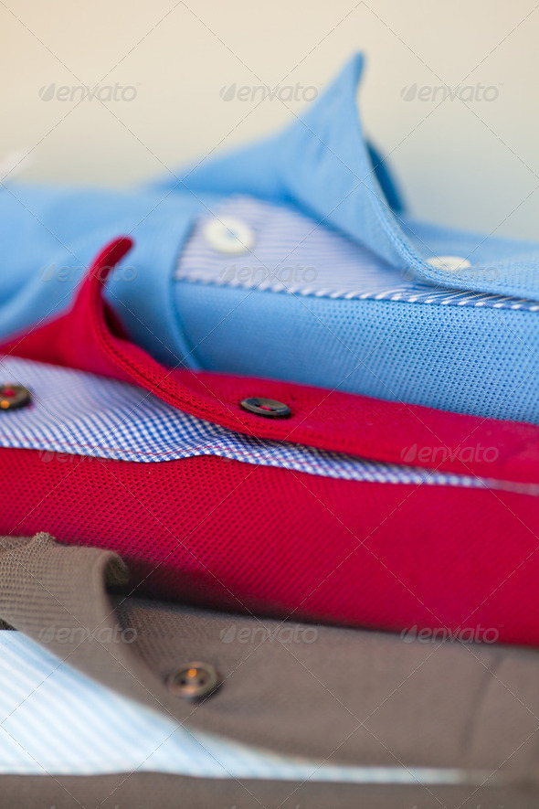 Polo shirts - Stock Photo - Images