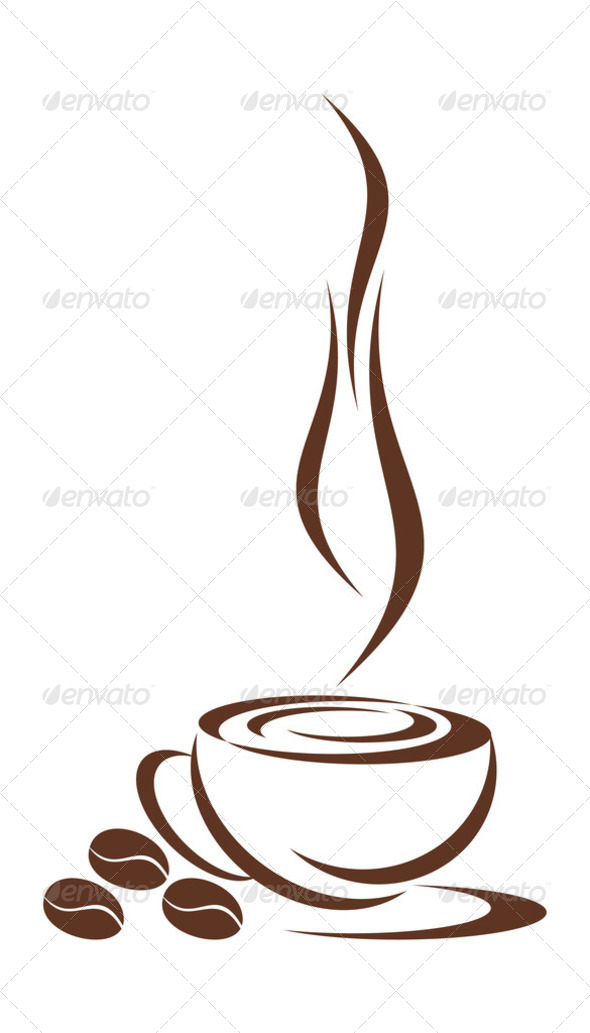 Coffee cup. - Stock Photo - Images