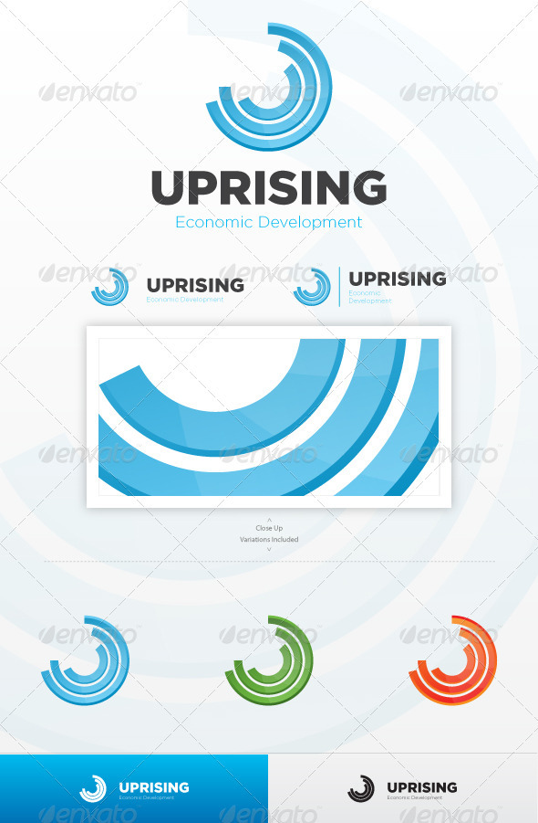 Uprising - Abstract Logo Templates