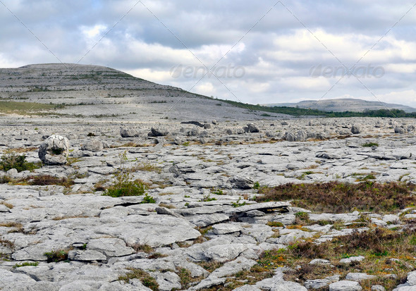 The Burren Landscape - Stock Photo - Images