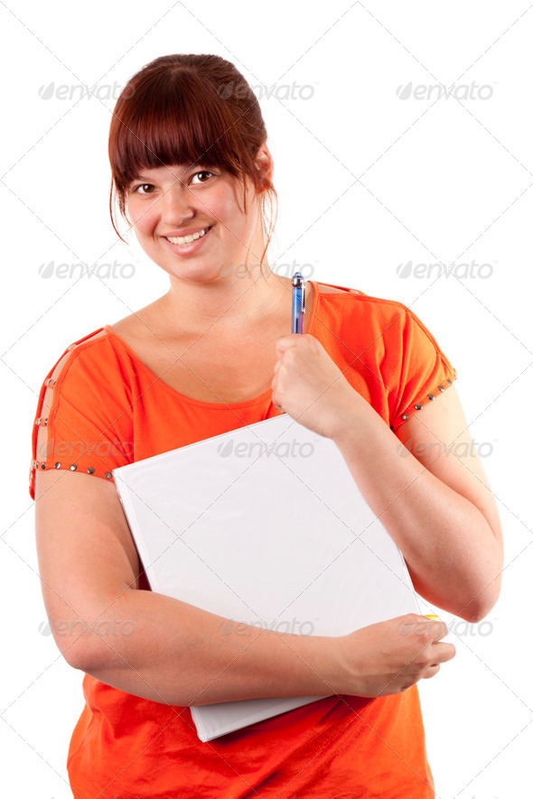 Student girl - Stock Photo - Images