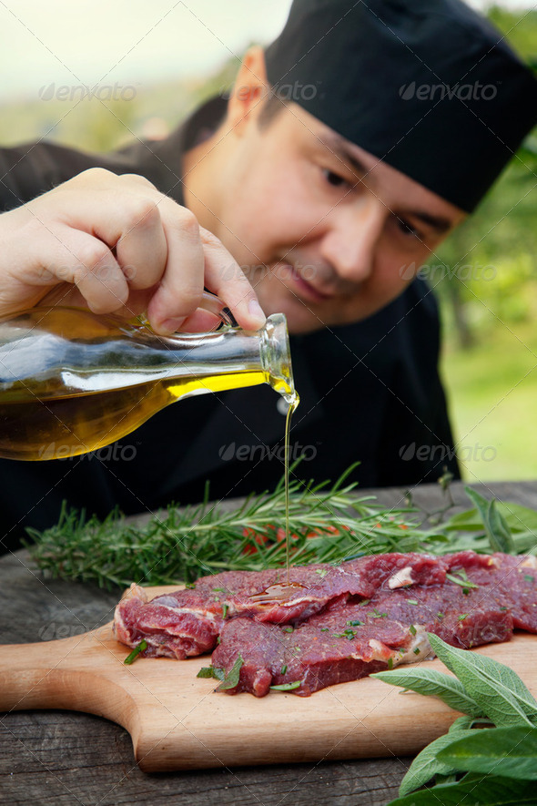 Preparing food - Stock Photo - Images