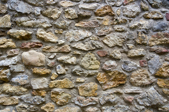 Texture of stone wall - Stock Photo - Images