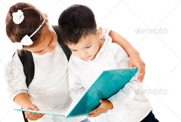 Preschool kids - Stock Photo - Images