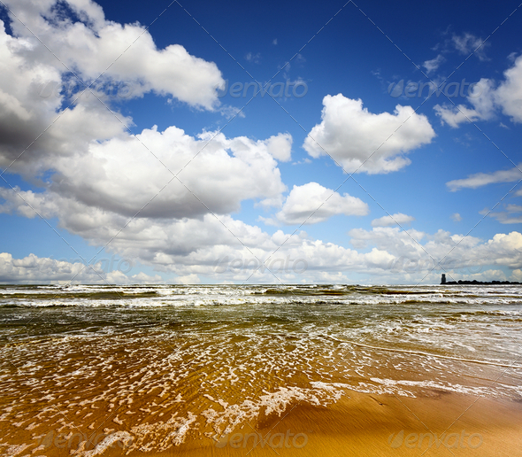 Summer sea - Stock Photo - Images