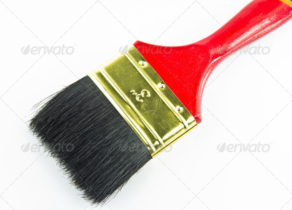 Paint Brush - Stock Photo - Images