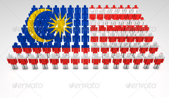 Malaysian Parade - Stock Photo - Images