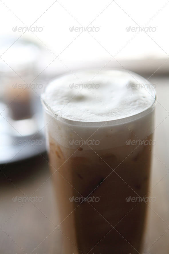 ice coffee - Stock Photo - Images