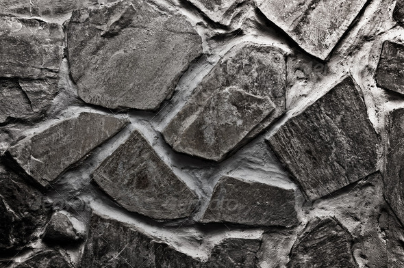 Stone wall background - Stock Photo - Images