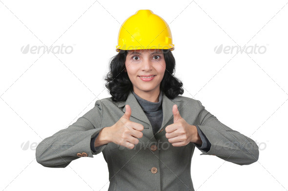 Success Female Architect - Stock Photo - Images