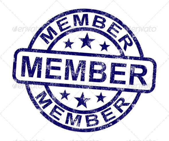 PhotoDune Member Stamp Shows Membership Registration And Subscribing 2478340