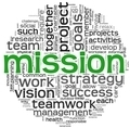 Mission concept in word tag cloud - PhotoDune Item for Sale