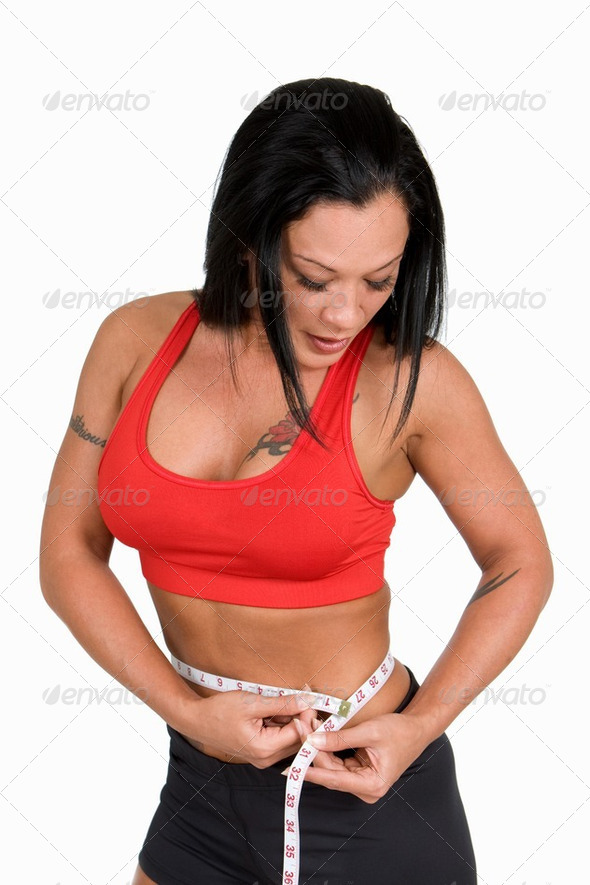 Waistline Measurement - Stock Photo - Images