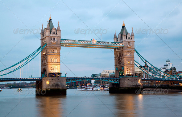 London Tower Bridge - Stock Photo - Images