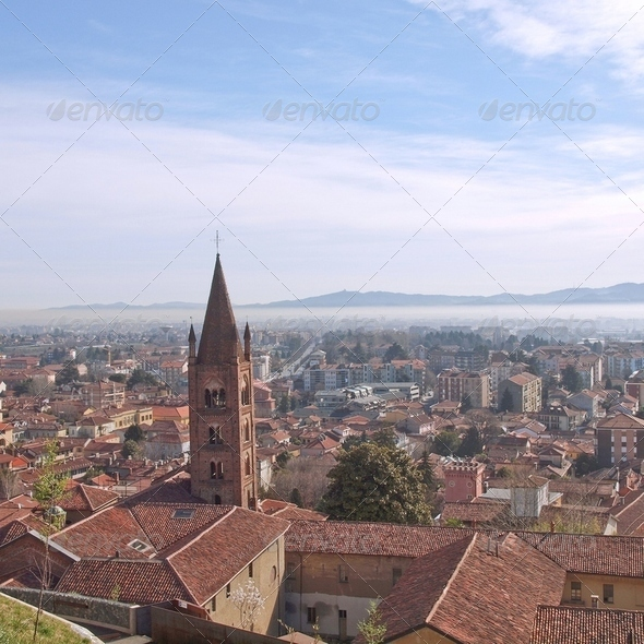 Aerial view, Rivoli - Stock Photo - Images
