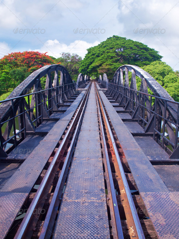 The bridge of the river kwai - Stock Photo - Images