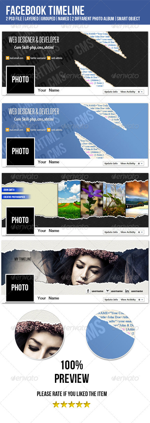 GraphicRiver Tron FB Timeline Cover Image 3354670