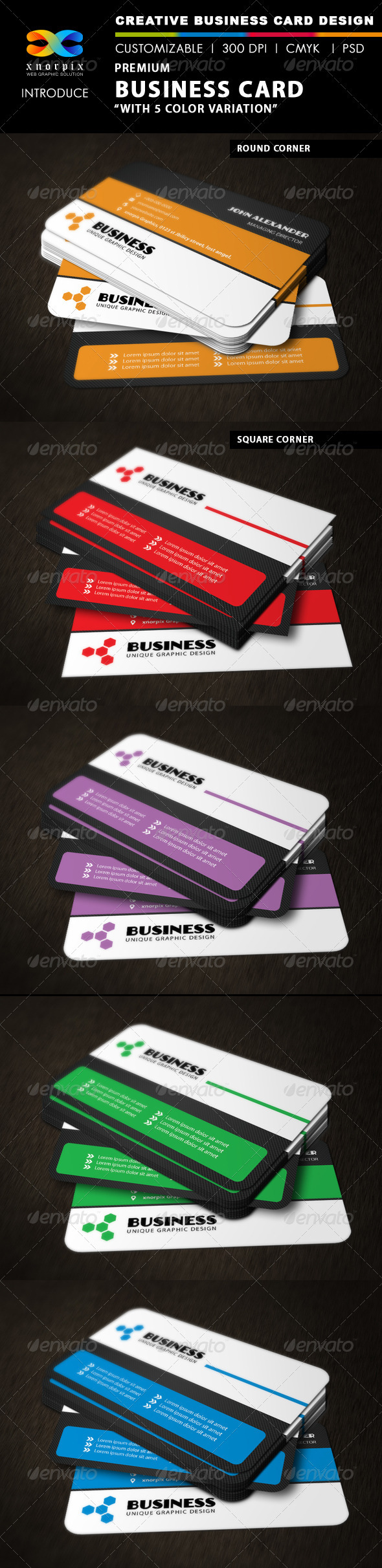 GraphicRiver Premium Business Card 3354872