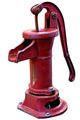 Old Red Water Pump - PhotoDune Item for Sale