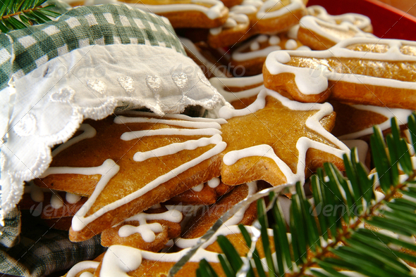 Christmas Gingerbread - Stock Photo - Images
