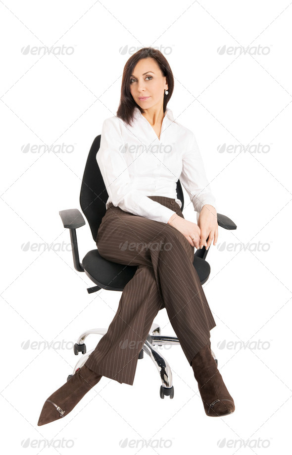businesswoman  at office - Stock Photo - Images