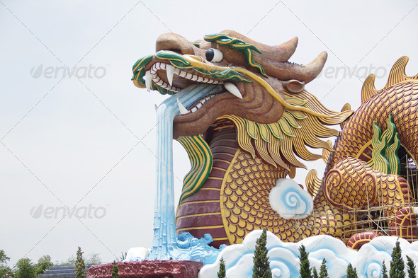 big dragon - Stock Photo - Images