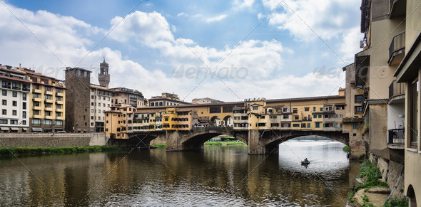 Ponte Vecchio in Florence - Stock Photo - Images